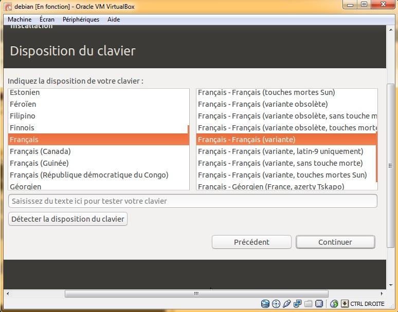 Disposition du clavier ubuntu