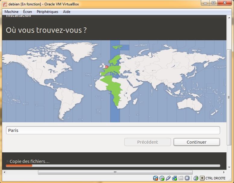 Localisation ubuntu