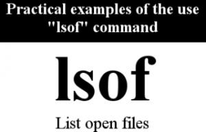 lsof-exemple